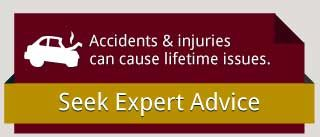 Accidents & injuries can be lifetime issues.